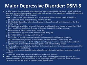 Differentiating Between Mental Disorders - FK Wiki